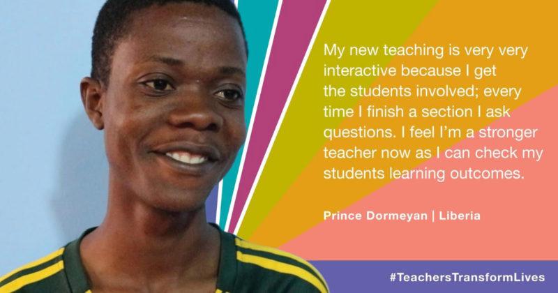 International campaign for UN World Teachers Day